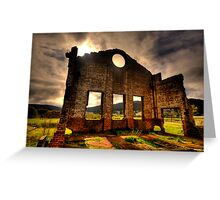 Better Times - Blast Furnace Park -, Lithgow NSW Australia - The HDR Experience Greeting Card