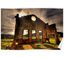 Better Times - Blast Furnace Park -, Lithgow NSW Australia - The HDR Experience Poster