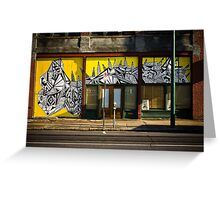 """High Contrast"" - South Main - Memphis, Tennessee  Greeting Card"