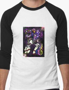 Magiponies - Puella Magi Mi Amore Cadenza Men's Baseball ¾ T-Shirt
