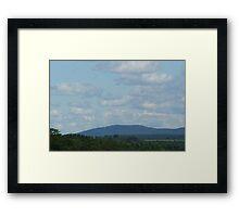 Hudson Valley Sunday Framed Print
