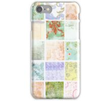 Shabby Cute Collage iPhone Case/Skin