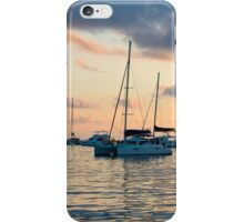Recreational Yachts at the Indian Ocean iPhone Case/Skin