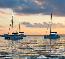 Recreational Yachts at the Indian Ocean by dvoevnore