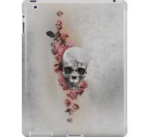 Skull And Roses, Parchment iPad Case/Skin