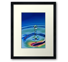 Water Statue Framed Print
