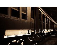 """Passenger Cars"" - Fort Worth, Texas Photographic Print"
