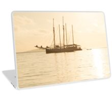 Recreational Yacht at the Indian Ocean Laptop Skin
