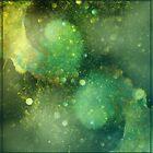 blue galaxy by Edith Arnold