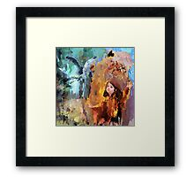 Child at play Framed Print