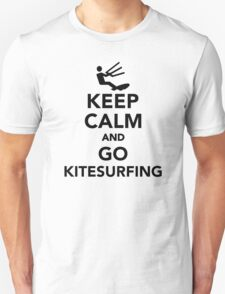 Keep calm and go Kitesurfing T-Shirt