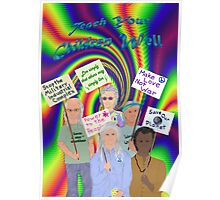 Sixties Protest...still... Poster