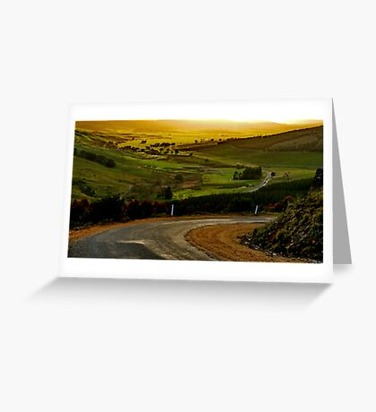 """Peace In The Valley"" Greeting Card"