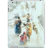 Concert In The Snow iPad Case/Skin