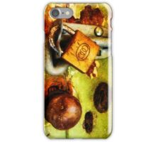Beating the Burglars iPhone Case/Skin