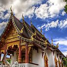 Wat Chang Taem ~ Thailand by Daniel Nahabedian