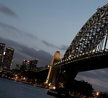 Sydney Harbour by Darryl Leach