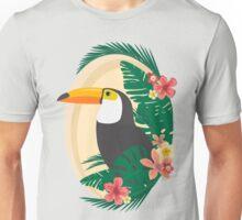 Tropical Jungle Toucan Unisex T-Shirt