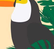 Tropical Jungle Toucan Sticker