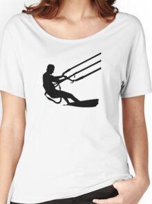 Kitesurfing Women's Relaxed Fit T-Shirt