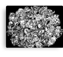 Kortmakesart Pokemon Canvas Print