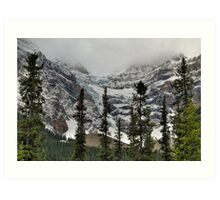 Snowy glaciers Art Print