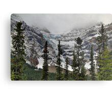 Snowy glaciers Metal Print