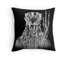 ZEUS black Throw Pillow