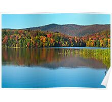 Kent Pond in Autumn Poster