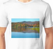 Kent Pond in Autumn Unisex T-Shirt