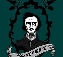 Edgar Allan Poe by brushedapparel