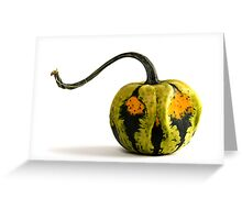 Jack the Gourd  Greeting Card