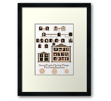 The Family Bussiness - SPN Framed Print