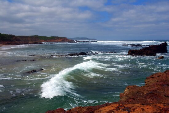 Rough seas  by Kerry  Hill