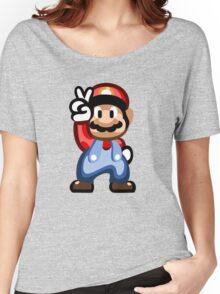 Mario 16 Bit Women's Relaxed Fit T-Shirt