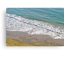Lines in the Sand Canvas Print