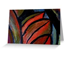 Abstract of Fruit 2 Greeting Card