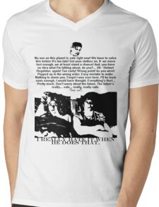 Sleep well (even though the future is in danger...) Mens V-Neck T-Shirt