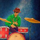 Jazz Drummer by Allegretto