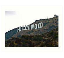 Hollywood Sign - L.A. Art Print