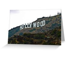 Hollywood Sign - L.A. Greeting Card