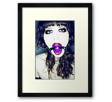 Tie me Framed Print