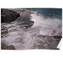 Receding Sea Poster