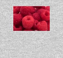 Delicious Red Raspberries Womens Fitted T-Shirt