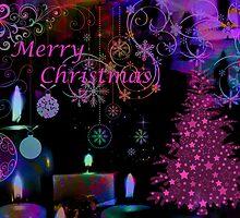 Merry Christmas.Card. by Vitta