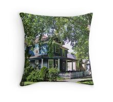 Old Kalispell Throw Pillow