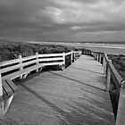 Sandy Point Boardwalk & Beach by Will Hore-Lacy