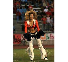 Broncos Cheerleaders in action Part 2 Photographic Print