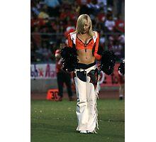 Broncos Cheerleaders in action Part 3 Photographic Print