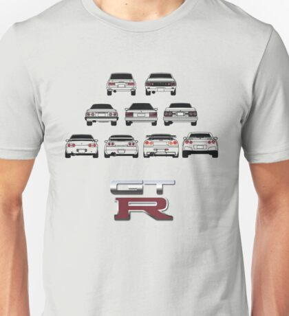 Nissan Skyline Black Unisex T-Shirt